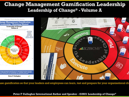 Change Management Gamification Leadership - Leadership of Change® Volume A