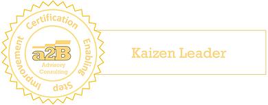 a2B Advisory Consulting, a2BKLT Badge, Kaizen Leader Training, Training Manual, Business Improvement, Business Improvement Training, a2BCMF, Peter Gallagher, Sarah Gallagher,a2b Change Management Framework, Enabling Step Improvement [Author: Peter Gallagher]