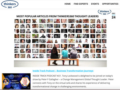 2020 Most Popular Articles from Thinkers360 Thought Leaders