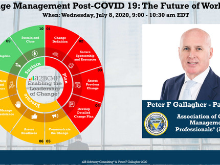 ACMP Global Panel - Change Management Post-COVID 19: The Future of Work is Now