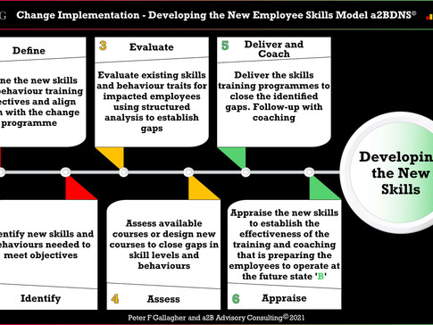 Change Implementation - Developing the New Employee Skills and Behaviours