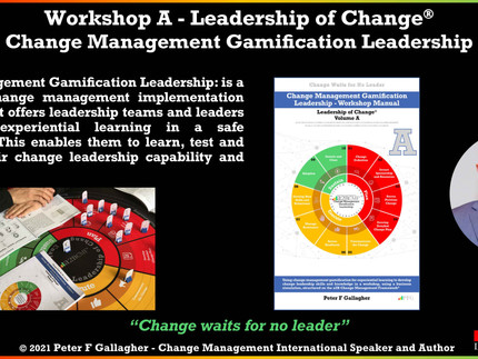 Leadership of Change® Workshop A: Change Management Gamification Leadership