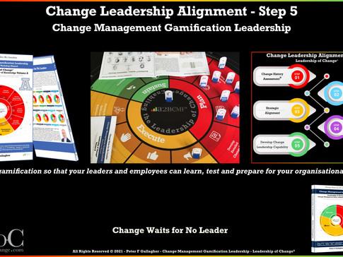Change Leadership Alignment - Step 5: Do You Have Change Leadership Skills?