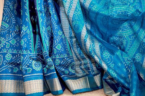 Navy blue and copper sulphet Baandha
