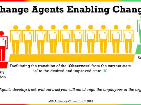 Change Management - Change Agents Enabling Change