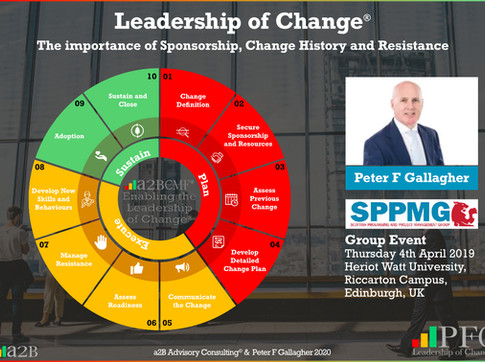 SPPMG Event - Leadership of Change Keynote