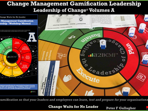 Change Management Gamification Leadership - Leadership of Change®