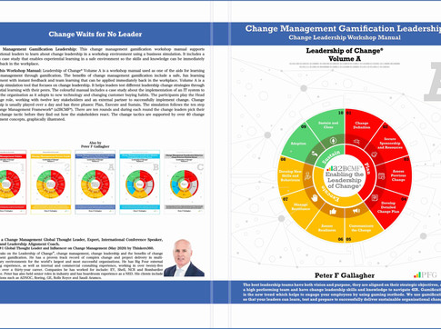 Change Management Gamification  Leadership - Leadership of Change® Volume A - Published