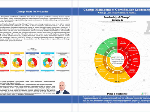 Change Management Gamification Leadership - Leadership of Change® Volume A - Published
