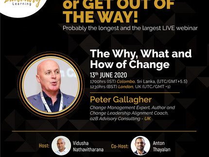 The Why, What and How of Change Management - Peter F Gallagher Speaks