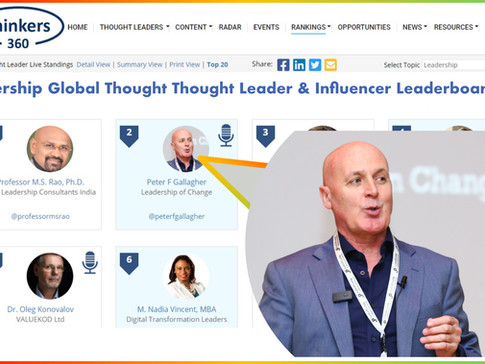 Top 50 Global Thought Leaders and Influencers on Leadership (May 2021)
