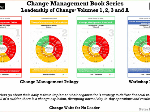 Change Management Book Quartet: Leadership of Change Volumes 1, 2, 3 & A