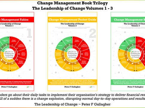 Change Management Book Trilogy: Leadership of Change Volumes 1 - 3