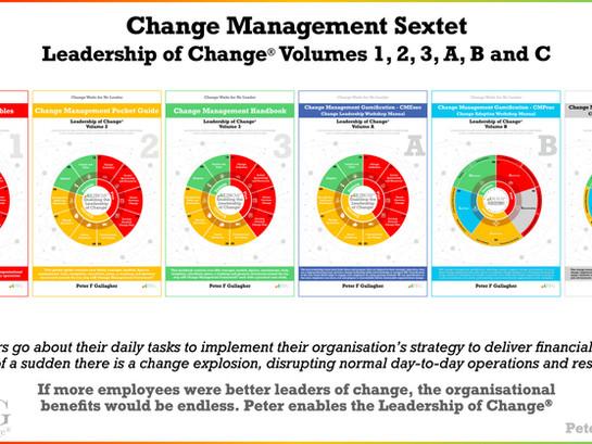 Change Management Book Sextet