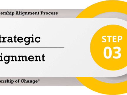 Change Leadership Alignment Process Step 3: Strategic Alignment