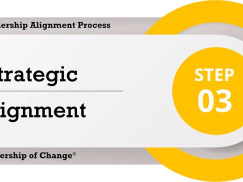Change Leadership Alignment Process Step 3: Strategic Alignment