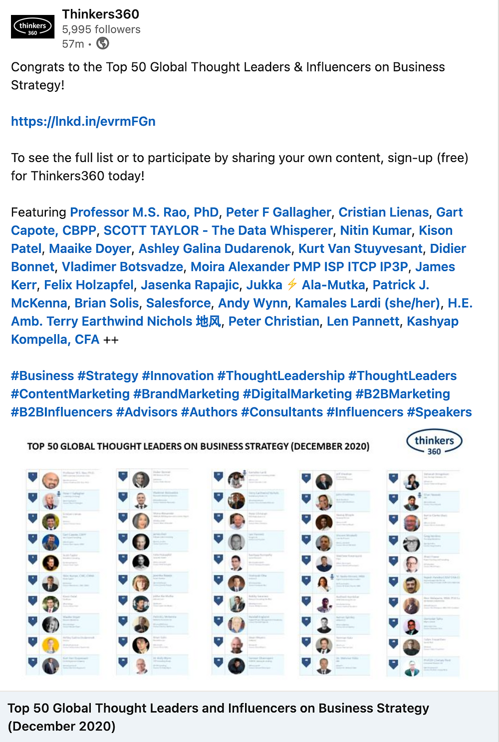 Peter F Gallagher Ranked #2 Global Thought Leaders Business Strategy (Oct 2020) Thinkers360, Peter F Gallagher Ranked #1 Global Thought Leaders Change Management Expert (Oct 2020) Thinkers360, Peter F Gallagher Expert International Speaker Author and Leadership Alignment Coach,