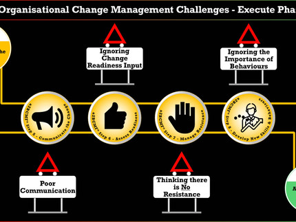 Organisational Change Management Challenges - Execute Phase