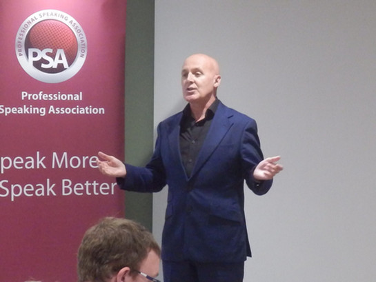 PSA Speaker Factor Scottish Final – September 2018 - Presenting the Leadership of Change