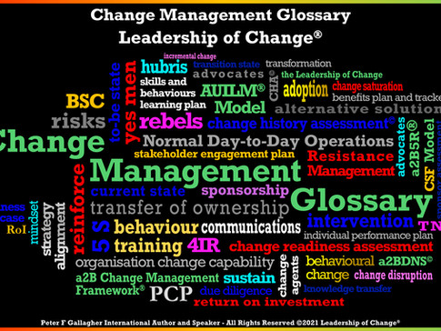 Please Use Our Free a2B Change Management Glossary