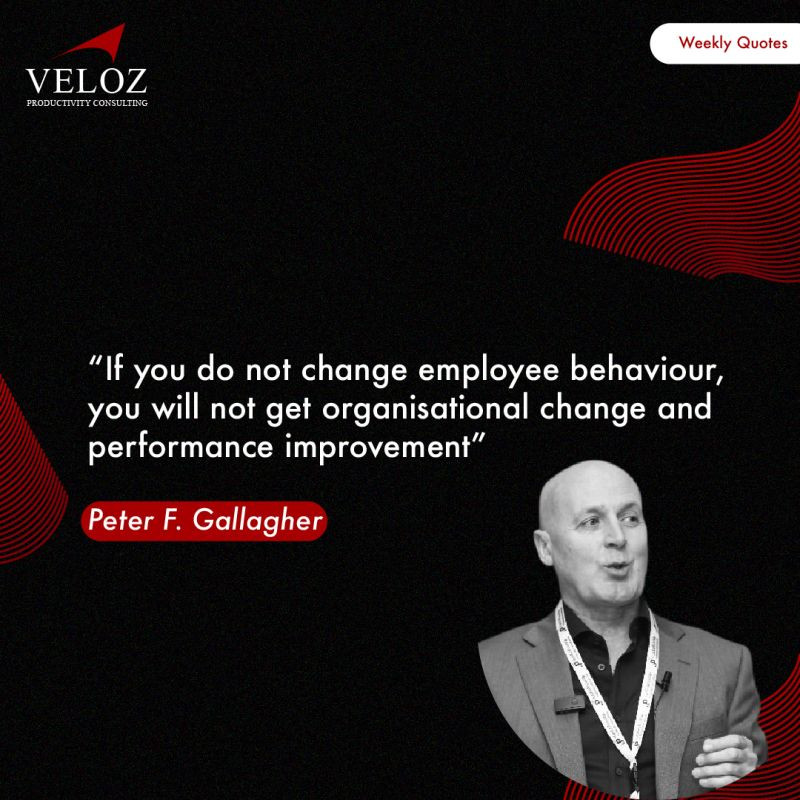 "Change Management Framework® (a2BCMF®) Step #8 Develop New Skills and Behaviours ""If you do not change employee behaviour, you will not get organisational change and performance improvement"" Peter F Gallagher Change Management Expert and Global Thought Leader"