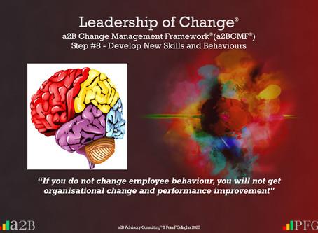 a2B Change Management Framework® (a2BCMF®) Step #8