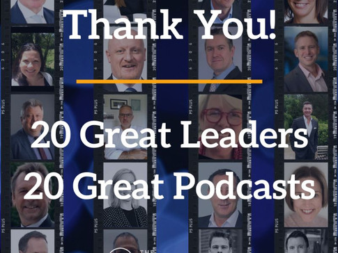 20 Great Podcasts - The Transformation Leaders Hub