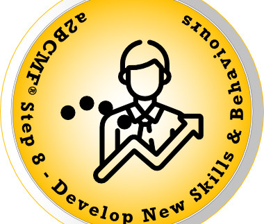 a2B Change Management Framework® (a2BCMF®) - Step #8 Icon: Developing New Skills and Behaviours