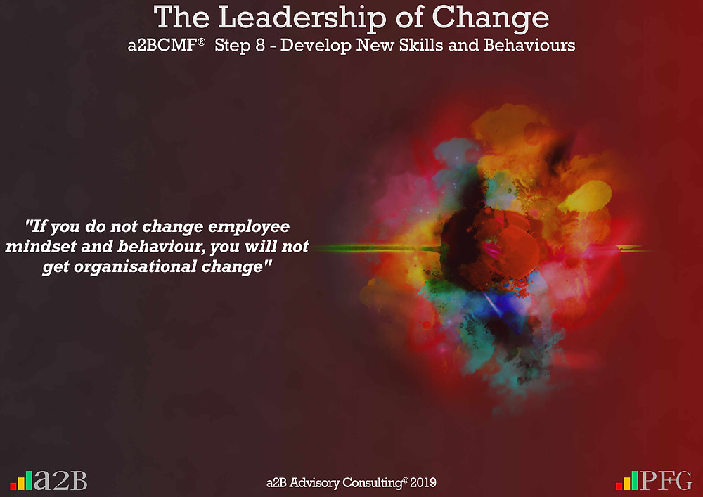 """Peter F Gallagher Change Expert, """"If you do not change employee mindset and behaviour, you will not get organisational change"""" ~ Peter F Gallagher, The Leadership of Change - Lessons Learned, Is there strategic fit with the change project? - Be very clear on how the change project fits within the organisation's strategy, portfolio and the leadership, #LeadershipOfChange, The leadership paradox - Implementing organisational change management vs. delivering normal day to day operations, Peter F Gallagher International Change Management Speaker,"""