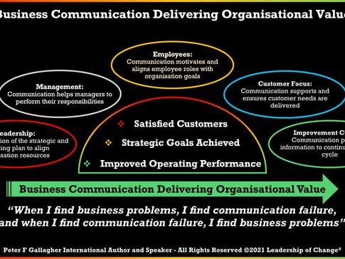 Business Communication Delivering Organisational Value