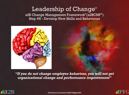 a2B Change Management Framework® (a2BCMF®) Step #8
