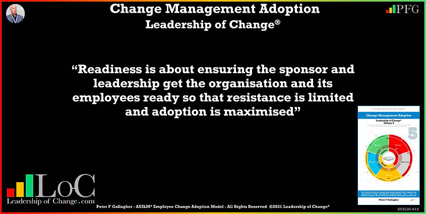Change Management Adoption Quotes, Change Management Quotes, Peter F Gallagher, hance organisation change adoption and solution quality by getting employee input into the change design and then socialising the output, Peter F Gallagher Change Management Experts, Peter F Gallagher Change Management Speakers, Peter F Gallagher Change Management Global Thought Leaders, change management Adoption book, Leadership of Change, Employee Adoption Change,