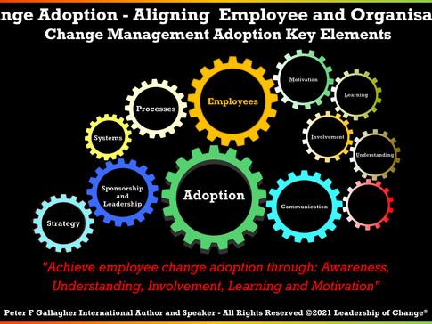 Change Adoption - Aligning the Employee and Organisation