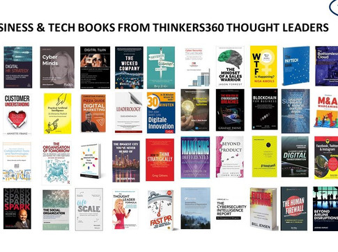 50 Business and Technology Books from Thinkers360 Thought Leaders