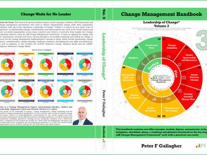 Change Management Handbook - Leadership of Change Volume 3 - Paperback Release 4th Aug 2019