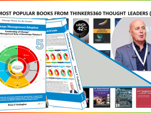 Most Popular Books from Thinkers360 Thought Leaders (1H'21) - Change Management Adoption