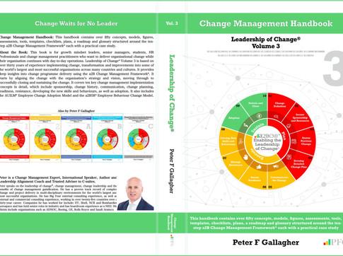 Change Management Handbook - Leadership of Change Volume 3 (Cover Design Release)