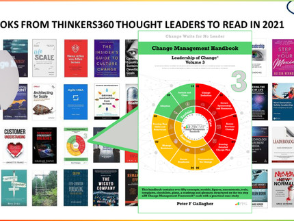 50 Business and Technology Books from Thinkers360 Thought Leaders - 3 Dec 2020