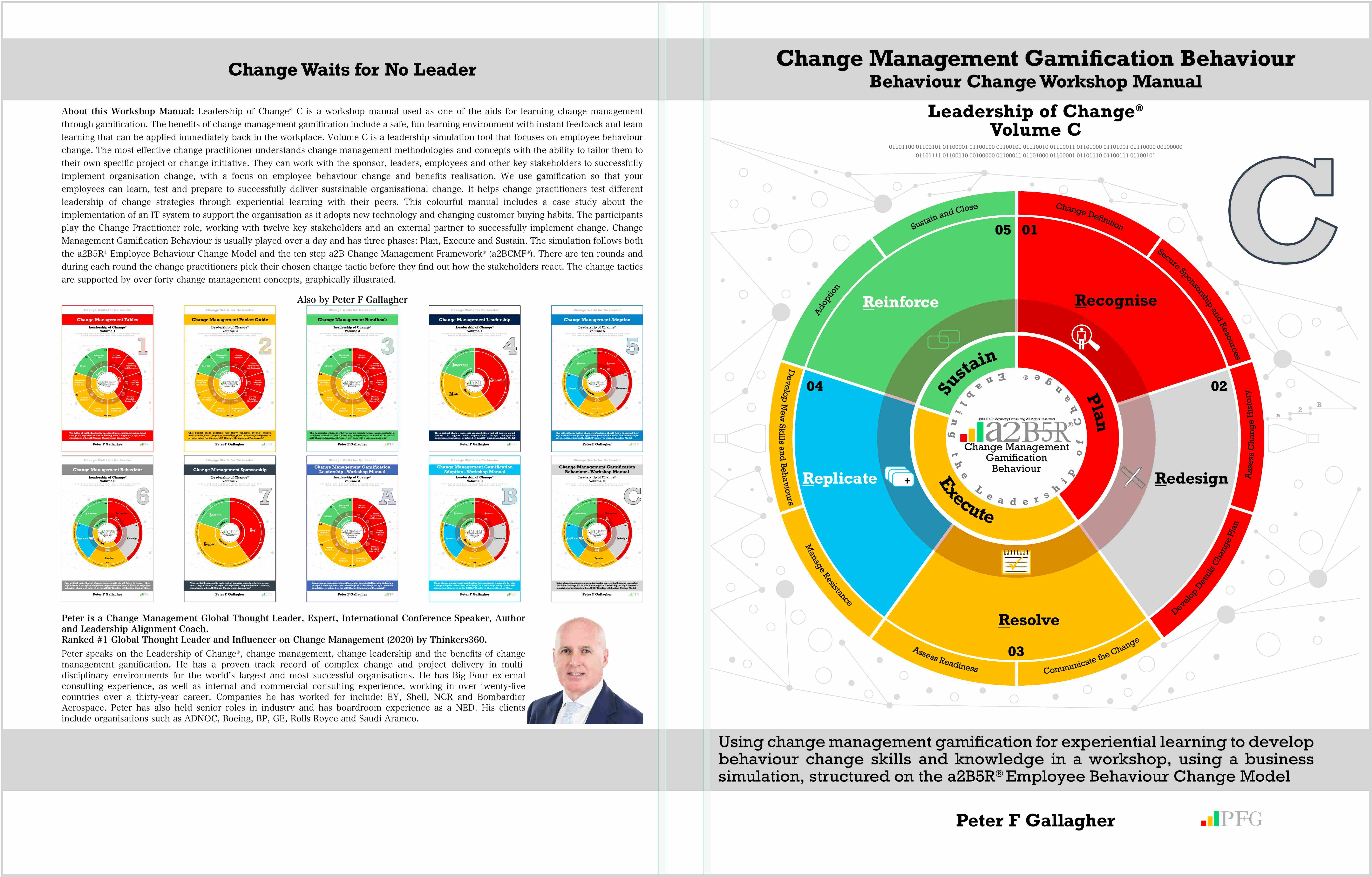 Change Management Gamification Behaviour - Leadership of Change® Volume C, Change Management Book, C