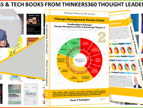 50 Business and Technology Books from Thinkers360 Thought Leaders - 19 Jan 2020