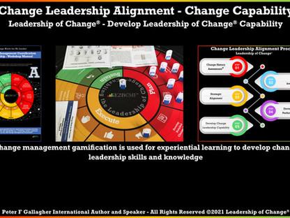 Change Leadership Alignment: Have You Change Leadership Skills?
