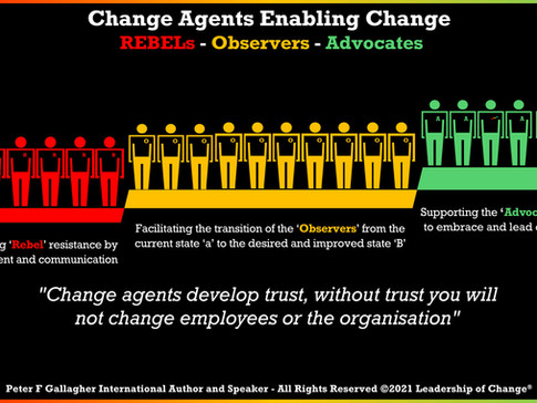Change Agents as Business Partners