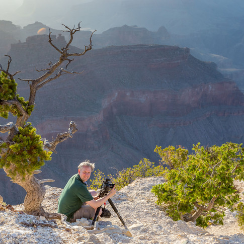 Waiting for sunset, Grand Canyon, USA