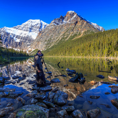 Early morning, Lake Cavell, Canada