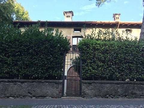 cancellino entrata pedonale via San Michele Lacasadiscorta