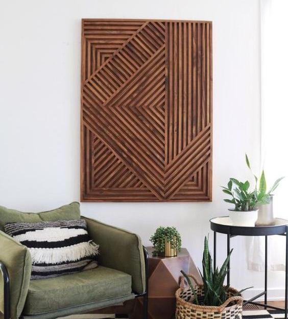 Wood Dowel Panel