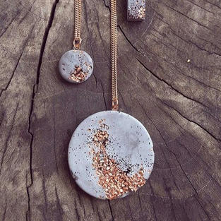 Concrete Necklace