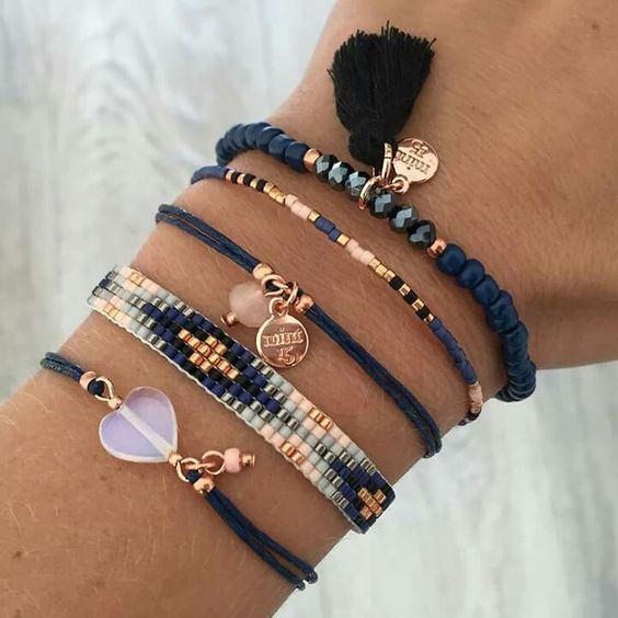 Beaded Loom Bracelet
