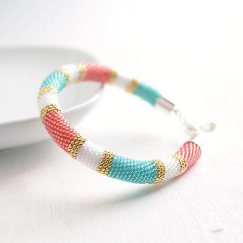 Beaded Rope Bracelet