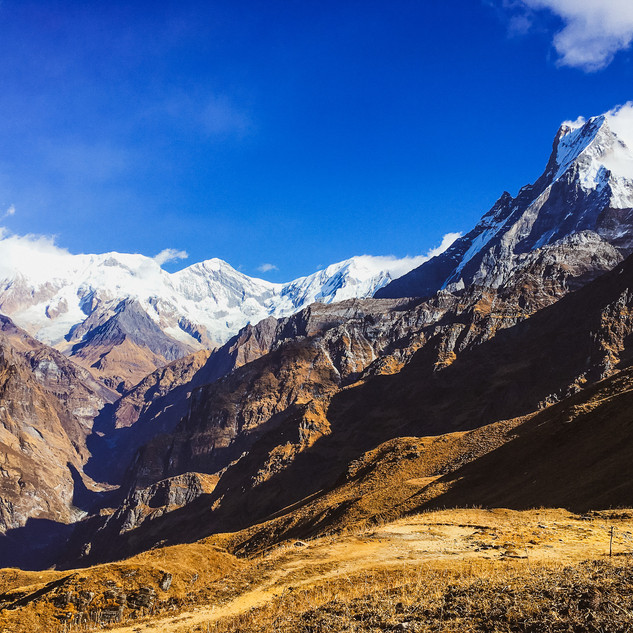 Views along Mardi Himal trek, Nepal